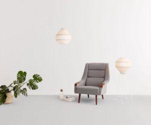Mayu Perndant Floor Lamp Coco Flip Australian Lighting designer Local Maker